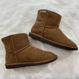 BEARPAW | Hickory Short Ankle Boots – Size 10